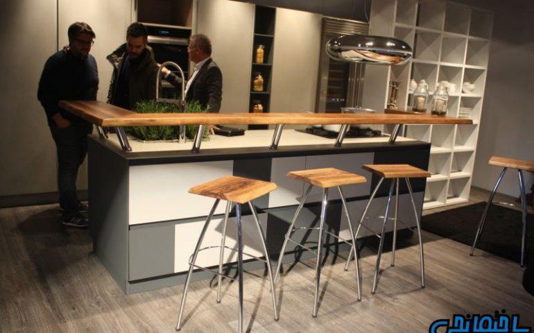 انواع جزیره در آشپزخانه های مدرن